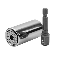 GRIP HAND TOOL Universal Socket Wrench Power Drill