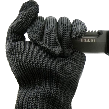 Kevlar Stainless Steel Wire Resistance Gloves