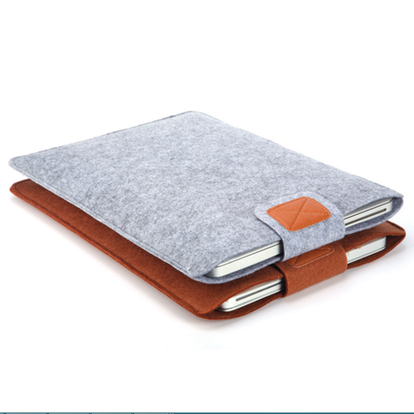 Premium Anti-Scratch Soft Sleeve Notebook Cover for Laptops, MacBooks, and Tablets - 13 or 15 inches