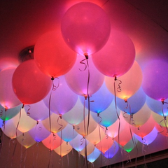 Multi-Color Light-Up LED Balloons