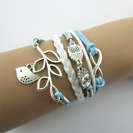 Three Little Birds Bracelet - BoardwalkBuy