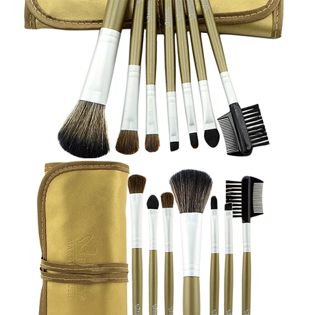 7 Piece Glamour Golden Set