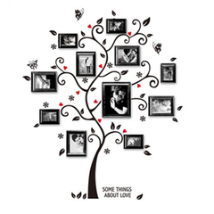 Chic Family Photo Tree