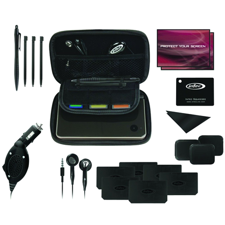 20 Piece Nintendo DS Travel Kit