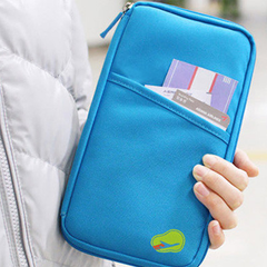 Zipped Travel Wallet