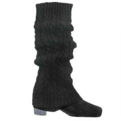 Women's Knitted Crochet Leg Warmers and Boot Covers - Assorted Colors - BoardwalkBuy - 4