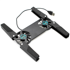 Portable USB Laptop Cooling Pad with Dual Fans - BoardwalkBuy - 5