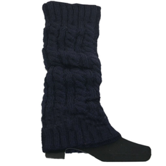 Women's Knitted Crochet Leg Warmers and Boot Covers - Assorted Colors - BoardwalkBuy - 3