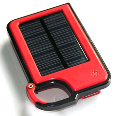 Smartphone Clip-On Solar Charger - Assorted Colors
