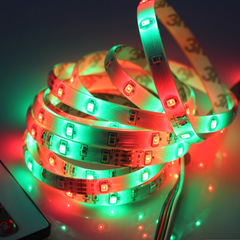 16 Feet 300 LED Waterproof RGB Light Strip With IR Remote Control - BoardwalkBuy - 2