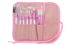 7 Piece Soft Pink Brush Set ,  - MyBrushSet, My Make-Up Brush Set  - 2