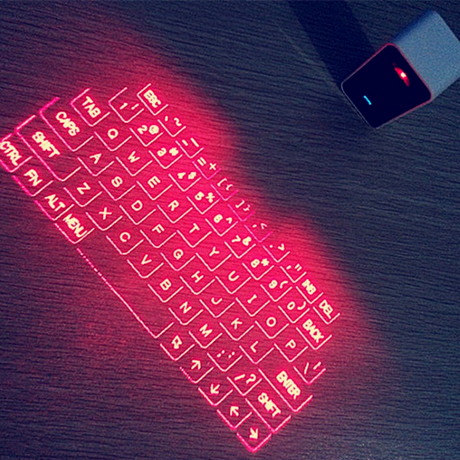 Portable Virtual Laser Keyboard and Bluetooth Speaker