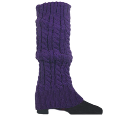 Women's Knitted Crochet Leg Warmers and Boot Covers - Assorted Colors - BoardwalkBuy - 7