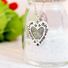 A Sister's Love is a Gift From Above - Pendant