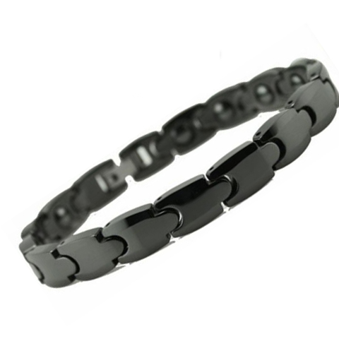 Bold Black Men's Bracelet