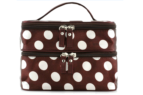 Polka Dot Make Up Bag - Assorted Colors
