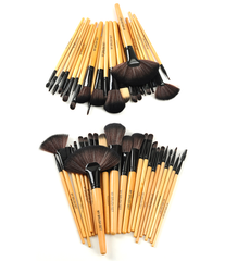 Premium Wood Brush Set with Free Case ,  - MyBrushSet, My Make-Up Brush Set  - 3