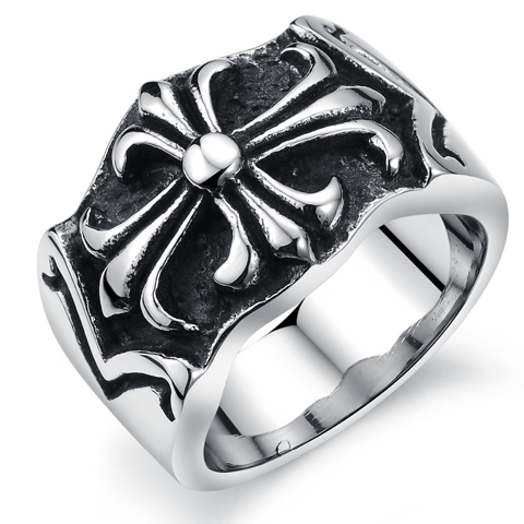 Cross Men's Ring