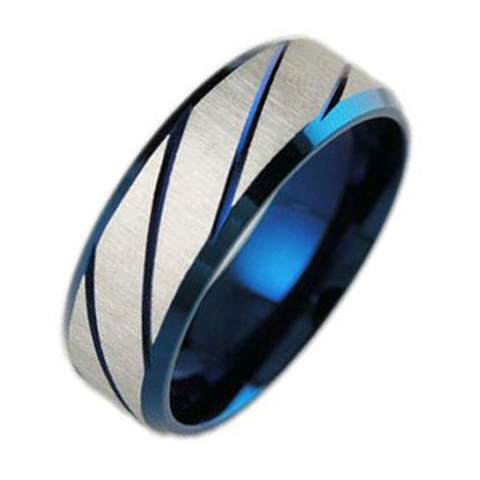 Blue Radiant Men's Ring