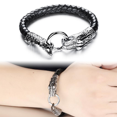 Game Of Thrones Inspired Dragon Loop Stainless Steel Men's Bracelet