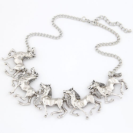Horse Statement Necklace