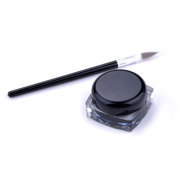 Creamy Gel Eyeliner with Brush ,  - My Make-Up Brush Set, My Make-Up Brush Set