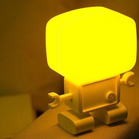 LED Sound-control and Light-operated table lamp
