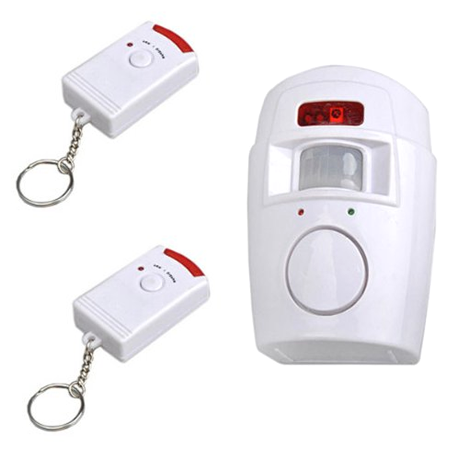 Remote Controlled Mini Alarm
