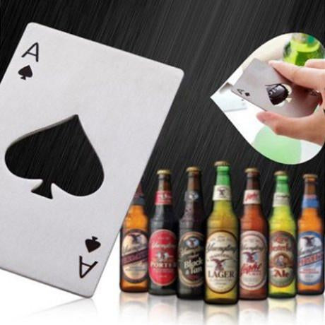 Spades Ace Shape Bottle Opener