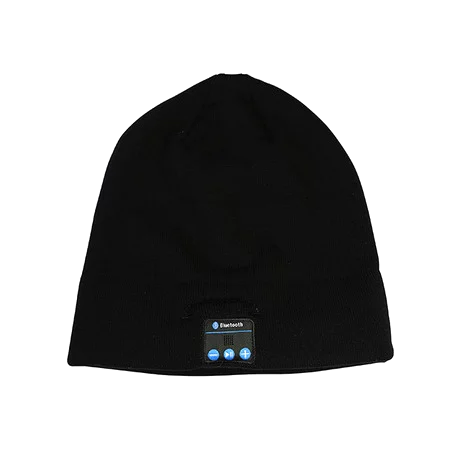 PowerJam Water-Resistant 100% Cotton Hat with Built-in Speakers & Bluetooth