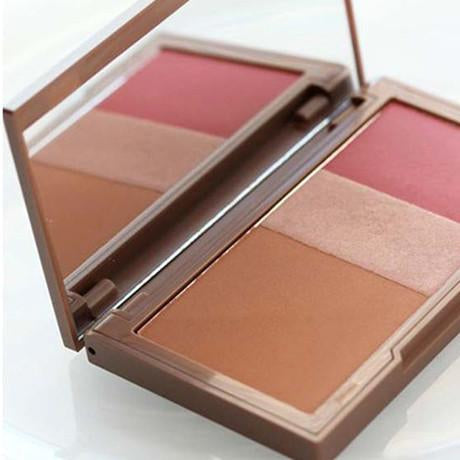 Bronzer Highlighter Blush Trio