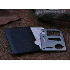 Multi - function Outdoor Knife Saber Card Multi Tool for Camping, Hiking