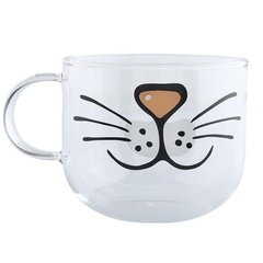 Transparent Cat Whisker Mug