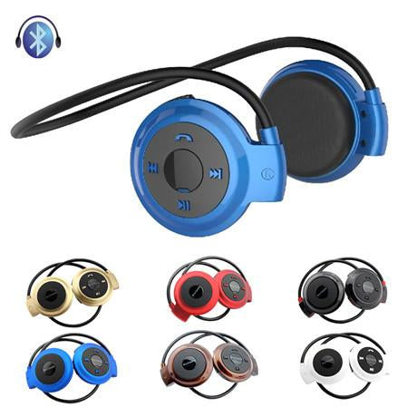 Universal Wireless Stereo Bluetooth Earphone Sport Headset Music Headphone with Built-in Microphone