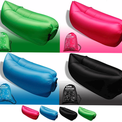 Waterproof Inflatable Lounger - Assorted Colors