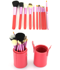 12 Piece Make Up Set in 5 Colors ,  - MyBrushSet, My Make-Up Brush Set  - 7