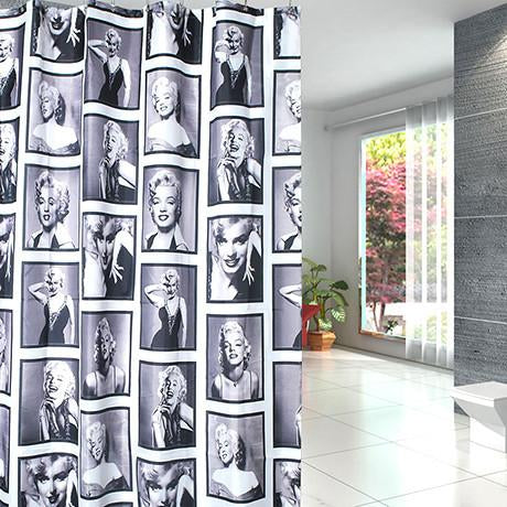 Waterproof Shower Curtain - Superstar Design