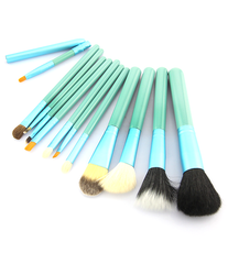 12 Piece Make Up Set in 5 Colors ,  - MyBrushSet, My Make-Up Brush Set  - 9