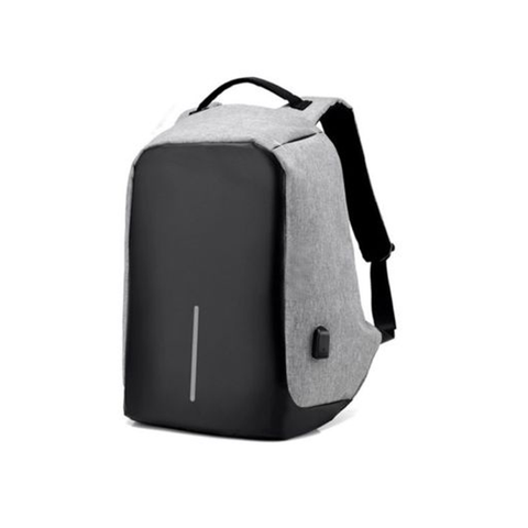 Anti-Theft Backpack With USB Charger