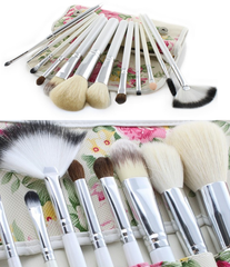 12 Piece Traditional Brush Set ,  - MyBrushSet, My Make-Up Brush Set  - 2