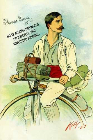 No 52. Around the World on a Bicycle, 1886 by Adventure Journals (ProductiveLuddite.com)