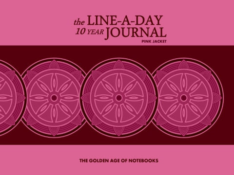 The Line-A-Day 10 Year Journal: Pink Jacket by The Golden Age of Notebooks (ProductiveLuddite.com)