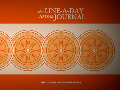 The Line-A-Day 10 Year Journal by The Golden Age of Notebooks (ProductiveLuddite.com)
