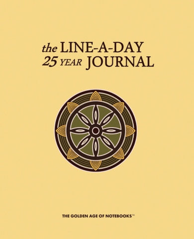 The Line-A-Day 25 Year Journal by The Golden Age of Notebooks (ProductiveLuddite.com)