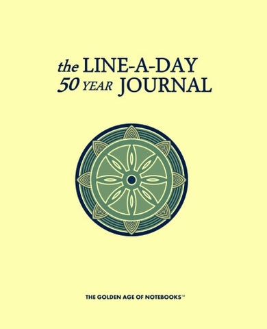 The Line-A-Day 50 Year Journal by The Golden Age of Notebooks (ProductiveLuddite.com)