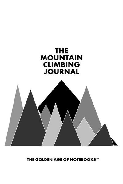 Sample Page from The Mountain Climbing Journal