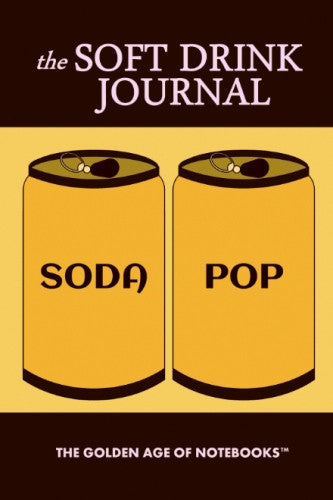 The Soft Drink Journal by The Golden Age of Notebooks (ProductiveLuddite.com)