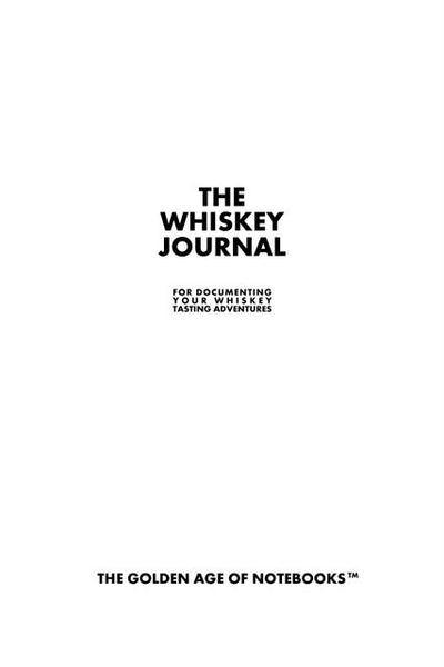 Sample Page from The Whiskey Journal