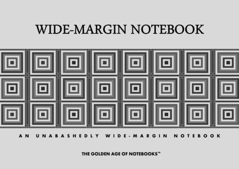 Wide-Margin Notebook by The Golden Age of Notebooks (ProductiveLuddite.com)
