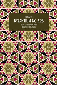 Byzantium No 3.28 Journal, Notebook, Diary by Owen Jones Classics (ProductiveLuddite.com)